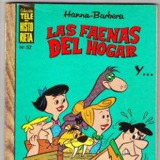 Tebeos: TELE-HISTORIETA Nº 57 - LAS FAENAS DEL HOGAR. Lote 112678871