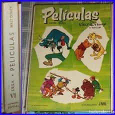 Tebeos: PELICULAS TOMO VI 6 ERSA JOVIAL 1969. Lote 113387579