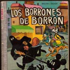 Tebeos: COMIC DUMBO, Nº 21: LOS BORRONES DE BORRON - ERSA, WALT DISNEY. Lote 114407935