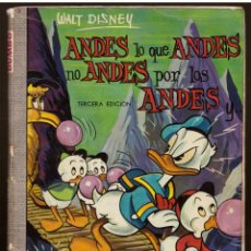 Tebeos: COMIC DUMBO, Nº 7: ANDES LO QUE ANDES NO ANDES POR LOS ANDES - ERSA, WALT DISNEY. Lote 114408031
