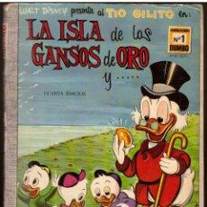 Tebeos: COMIC DUMBO, Nº 1: LA ISLA DE LOS GANSOS DE ORO - ERSA, WALT DISNEY. Lote 114408087