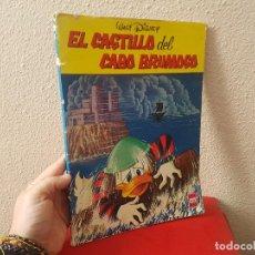 Tebeos: LIBRO TOMO COMIC TEBEO WALT DISNEY EL CASTILLO DEL CABO ERSA COLECCION CUCAÑA 14 EDICIONES RECREATIV. Lote 115021075