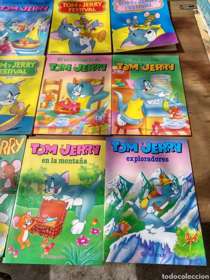 TOM Y JERRY 18 EJEMPLARES DIVERSOS (Tebeos y Comics - Ersa)