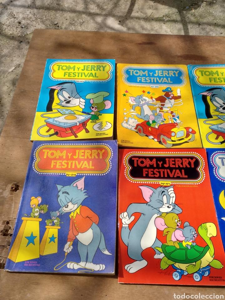 Tebeos: Tom y Jerry 18 ejemplares diversos - Foto 2 - 115286764