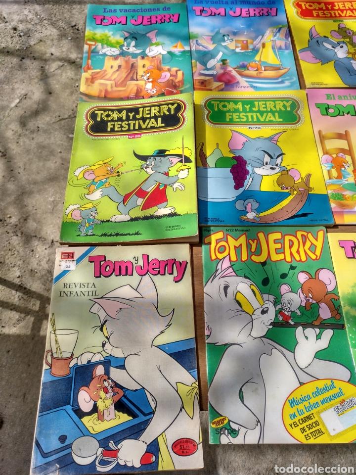 Tebeos: Tom y Jerry 18 ejemplares diversos - Foto 3 - 115286764