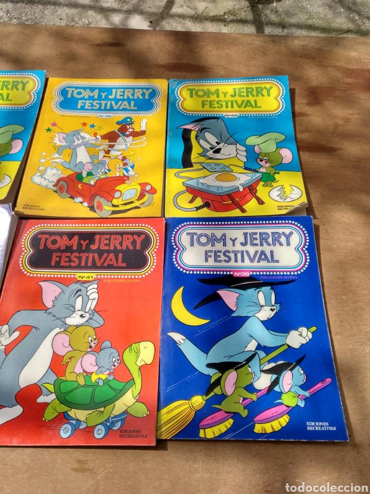 Tebeos: Tom y Jerry 18 ejemplares diversos - Foto 4 - 115286764