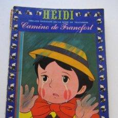 Tebeos: HEIDI - Nº 5 - CAMINO DE FRANCFORT RECREATIVAS C28. Lote 115569475
