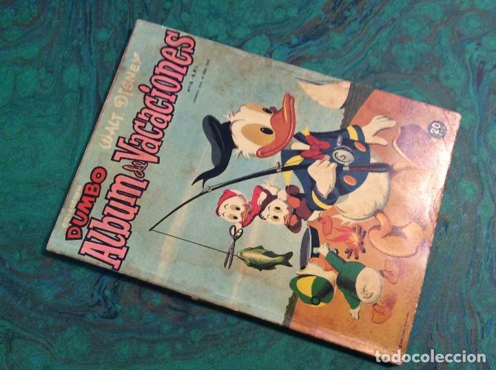 DUMBO (FANTASIA / ERSA 1947)... ALBUM VACACIONES 1958 (Tebeos y Comics - Ersa)