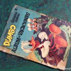 Tebeos: DUMBO (FANTASIA / ERSA 1947)... ALBUM VACACIONES 1955. Lote 116877803