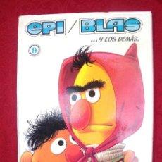 Tebeos: EPI Y BLAS DE ABRETE SESAMO Nº 9 1977. Lote 117020275