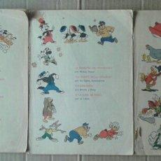 Tebeos: LOTE COLECCIÓN DUMBO, NÚMEROS 24, 72, 95. EDICIONES RECREATIVAS, 1972-1975-1976. 84 PÁGINAS A COLOR.. Lote 118686930