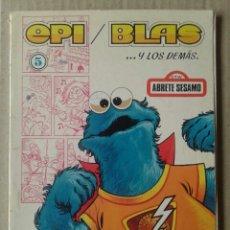 Tebeos: EPI, BLAS Y LOS DEMÁS N°5. BASADO EN LA SERIE DE TV ÁBRETE SESAMO. EDICIONES RECREATIVAS, 1977.. Lote 121305414