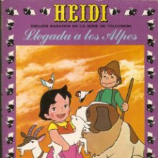 Tebeos: HEIDI - Nº 1 - LLEGADA A LOS ALPES - EDICIONES RECREATIVAS, S.A. ERSA - 1975.. Lote 119612259