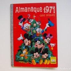Tebeos: WALT DISNEY. ALMANAQUE 1971 - Nº 71 - COLECCION DUMBO - ERSA. Lote 121389395