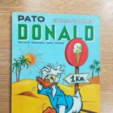 Tebeos: PATO DONALD EXTRAORDINARIO (8 JUNIO 1967). Lote 121895067