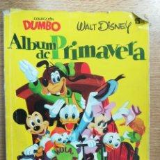 Tebeos: COLECCION DUMBO ALBUM DE PRIMAVERA. Lote 121897487