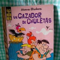 Tebeos: TELE HISTORIETA Nº 51 - UN CAZADOR DE CHULETAS - ERSA 1973. Lote 122095307