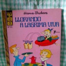 Tebeos: TELE HISTORIETA Nº 33 - LLORANDO A LAGRIMA VIVA - ERSA 1971. Lote 122096067