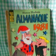 Tebeos: TELE HISTORIETA Nº 142 - ALMANAQUE 1981 - ERSA 1980. Lote 122096439