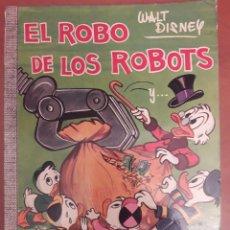 Tebeos: EL ROBO DE LOS ROBOTS - COL. DUMBO - Nº 19 XIX. WALT DISNEY - ERSA - AÑO 1967. PRIMERA EDICION. Lote 122152391