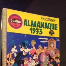 Tebeos: COMIC COLECCION DUMBO ERSA 95 ALMANAQUE 1973. Lote 122502259