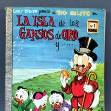 Tebeos: DUMBO WALT DISNEY Nº 1 LA ISLA DE LOS GANSOS DE ORO ERSA EDICIONES RECREATIVAS 1965. Lote 124870203