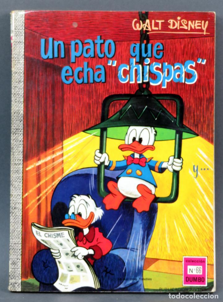 DUMBO WALT DISNEY Nº 66 UN PATO QUE ECHA CHISPAS ERSA EDICIONES RECREATIVAS 1970 (Tebeos y Comics - Ersa)