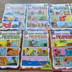 Tebeos: EDICIONES RECREATIVAS LOS PICAPIEDRA HANNA BARBERA 1975. 12 EJEMPLARES.. Lote 126084627