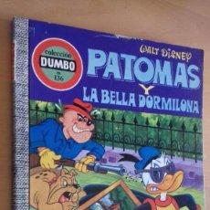 Tebeos: COMIC ERSA DUMBO 136 PATOMAS Y LA BELLA DORMILONA. Lote 126712287