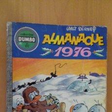 BDs: COMIC COLECCION DUMBO ERSA 132 ALMANAQUE 1976. Lote 126779719