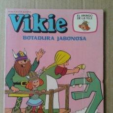 Tebeos: VIKIE N°75: BOTADURA JABONOSA (EL VIKINGO DE LA TELE). EDICIONES RECREATIVAS, 1984.. Lote 126906683