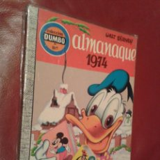 Tebeos: COMIC COLECCION DUMBO ERSA 107 ALMANAQUE 1974. Lote 145617656