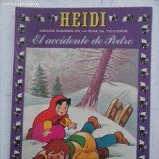 Tebeos: NOVELA GRAFICA . HEIDI . EL ACCIDENTE DE PEDRO . NUMERO 14 . EDICIONES RECREATIVAS. 1978 MUY BUEN E. Lote 126959231