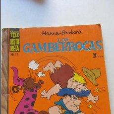 Tebeos: COLECCIÓN TELE HISTORIETA Nº 11 LOS GAMBERROCAS. ERSA 1970. 35 PTS. .HANNA BARBERA. CS136. Lote 128627771