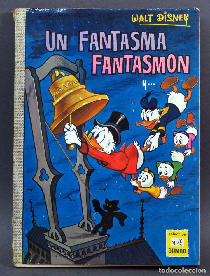 DUMBO WALT DISNEY Nº 49 UN FANTASMA FANTASMÓN ERSA EDICIONES RECREATIVAS 1970 (Tebeos y Comics - Ersa)