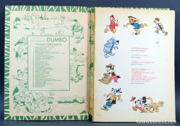 Tebeos: Dumbo Walt Disney Nº 49 Un Fantasma Fantasmón ERSA Ediciones Recreativas 1970 - Foto 2 - 129082519