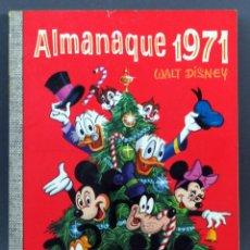 Tebeos: DUMBO WALT DISNEY Nº 71 ALMANAQUE 1971 ERSA EDICIONES RECREATIVAS 1970 1ª ED. Lote 129154267