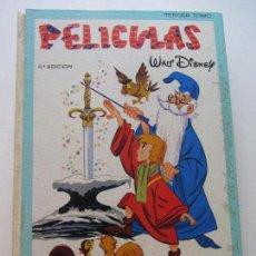 Tebeos: PELICULAS WALT DISNEY TERCER TOMO COLECCION JOVIAL ERSA AÑO 1983 III 3 BUEN ESTADO GT08. Lote 146903062
