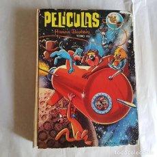 Tebeos: PELÍCULAS HANNA BARBERA,TOMO XV / 15,COLECCION JOVIAL,ERSA,AÑO 1971,FILOS ROZADOS,RESTO BIEN. Lote 133224162