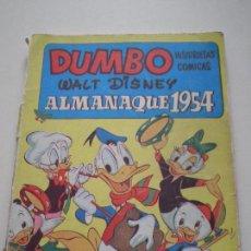 Tebeos: COLECCION DUMBO - ALMANAQUE 1954 - WALT DISNEY EDICIONES RECREATIVAS S.A. E.R.S.A. ERSA 1954. Lote 133563690
