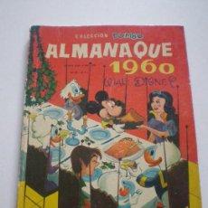 Tebeos: COLECCION DUMBO - ALMANAQUE 1960 - WALT DISNEY EDICIONES RECREATIVAS S.A. E.R.S.A. ERSA 1960. Lote 133563994