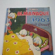 Tebeos: COLECCION DUMBO - ALMANAQUE 1963 - WALT DISNEY EDICIONES RECREATIVAS S.A. E.R.S.A. ERSA 1963. Lote 133565870