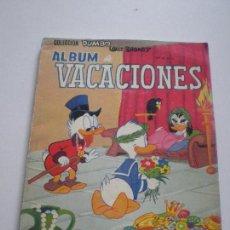 Tebeos: COLECCION DUMBO - ALBUM DE VACACIONES - WALT DISNEY EDICIONES RECREATIVAS S.A. E.R.S.A. ERSA 1964 . Lote 133567770
