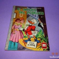 Tebeos: ¡ EL IMPERIO DEL PEDRUSCO ! DE WALT DISNEY Nº 18 COLECCIÓN DUMBO DE E.R.S.A. DEL AÑO 1967. Lote 134034086