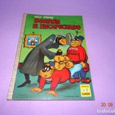Tebeos: BORRÓN EL ENCAPUCHADO DE WALT DISNEY Nº 12 COLECCIÓN DUMBO DE E.R.S.A. DEL AÑO 1966. Lote 134034582
