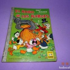 Tebeos: EL ROBO DE LOS ROBOTS DE WALT DISNEY Nº 19 COLECCIÓN DUMBO DE E.R.S.A. DEL AÑO 1966. Lote 134034746