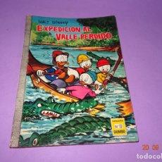 Tebeos: EXPEDICION AL VALLE PERDIDO DE WALT DISNEY Nº 13 COLECCIÓN DUMBO DE E.R.S.A. DEL AÑO 1966. Lote 134040658