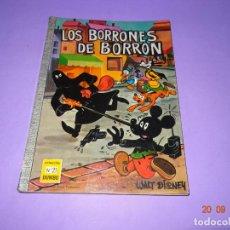 Tebeos: LOS BORRONES DE BORRÓN DE WALT DISNEY Nº 21 COLECCIÓN DUMBO DE E.R.S.A. AÑO 1967. Lote 134048646