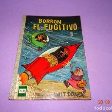 Tebeos: BORRÓN EL FUGUITIVO DE WALT DISNEY Nº 30 COLECCIÓN DUMBO DE E.R.S.A. AÑO 1968. Lote 134048822