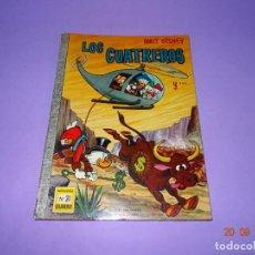 Tebeos: LOS CUATREROS DE WALT DISNEY Nº 31 COLECCIÓN DUMBO DE E.R.S.A. AÑO 1968. Lote 134048842